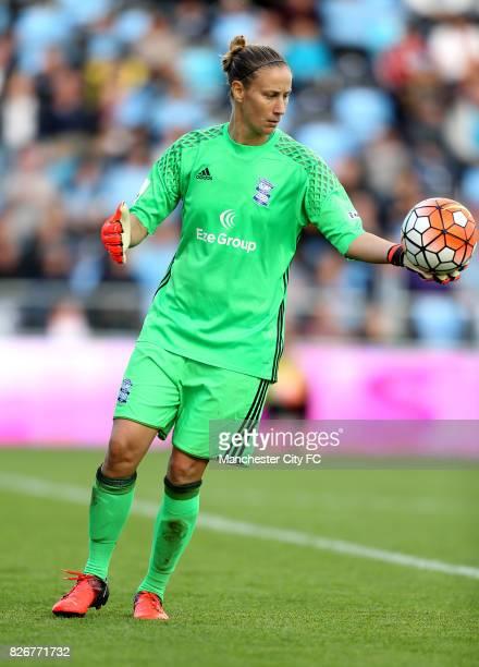 Birmingham City goalkeeper AnnKatrin Berger