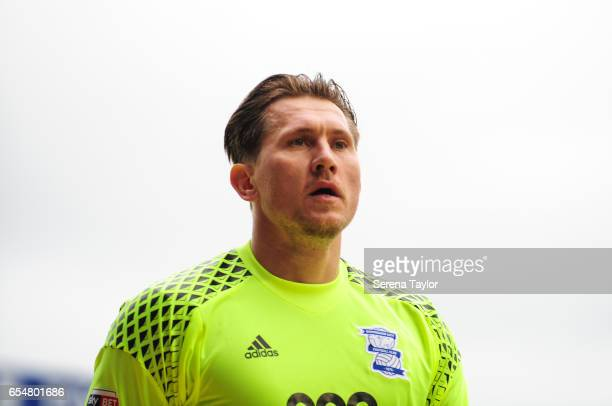 Birmingham City Goalkeeper Tomasz Kuszczak during the Sky Bet Championship match between Birmingham City and Newcastle United at St Andrews stadium...