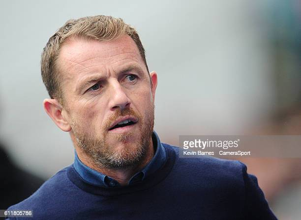 Birmingham City manager Gary Rowett during the Sky Bet Championship match between Birmingham City and Blackburn Rovers at St Andrews on October 1...