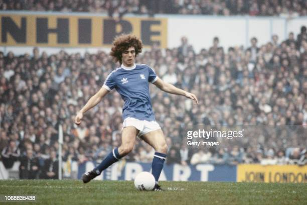 Birmingham City player Alberto Tarantini in action during an FA Cup 5th Round tie at White Hart Lane against Tottenham Hotspur on February 16 1980 in...