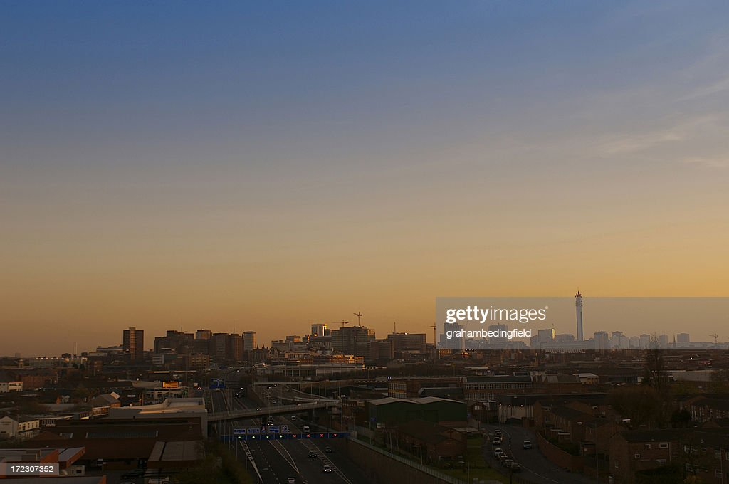 Birmingham City Skyline : Stock Photo