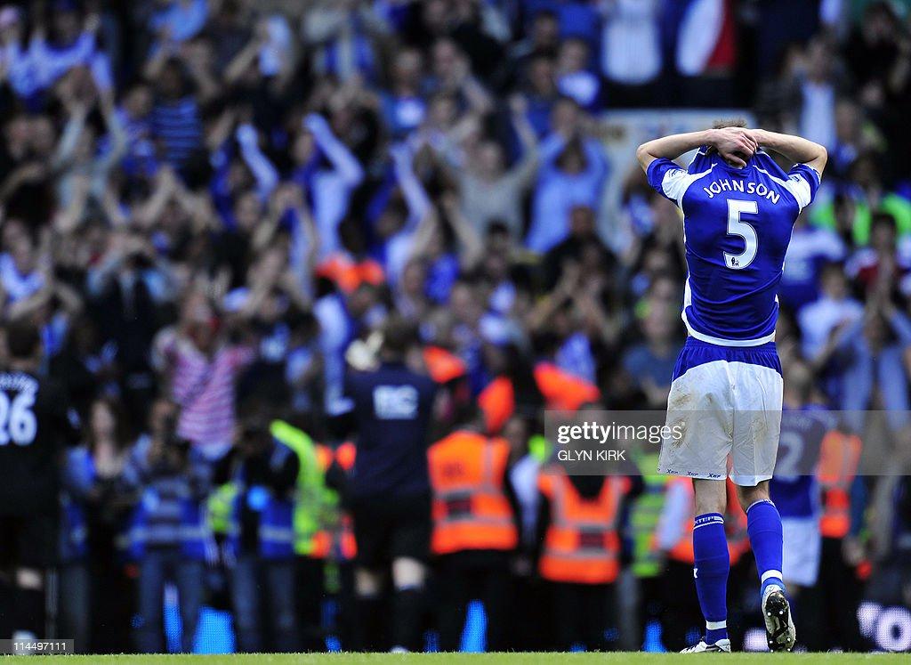 Birmingham City's English defender Roger : News Photo