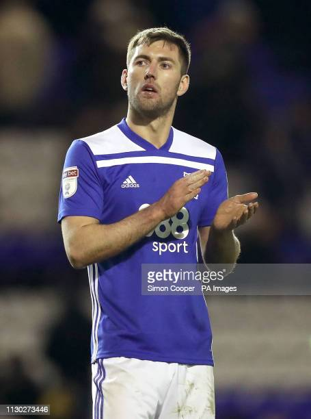 Birmingham City's Gary Gardner after the final whistle during the Sky Bet Championship match at St Andrew's Trillion Trophy Stadium Birmingham