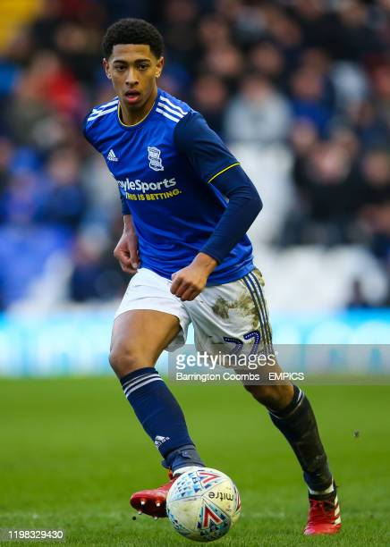 Birmingham City's Jude Bellingham during the Sky Bet Championship at St Andrew's Trillion Trophy Stadium Birmingham City v Nottingham Forest Sky Bet...