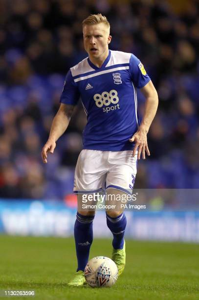 Birmingham City's Kristian Pedersen during the Sky Bet Championship match at St Andrew's Trillion Trophy Stadium Birmingham