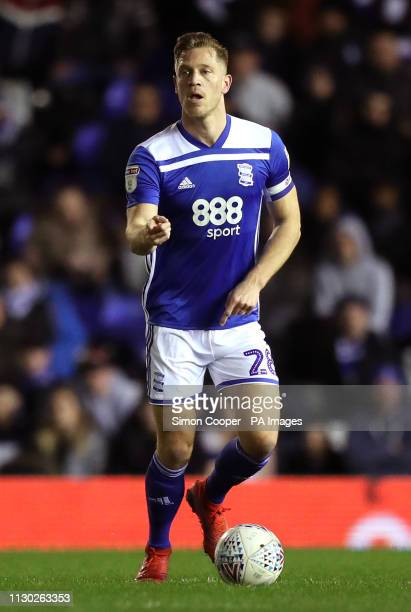 Birmingham City's Michael Morrison during the Sky Bet Championship match at St Andrew's Trillion Trophy Stadium Birmingham
