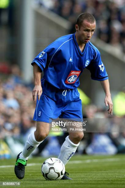 Birmingham City's Paul Devlin during Manchester City's 20 victory over Birmingham City at St Andrews in todays FA Barclaycard Premiership game...
