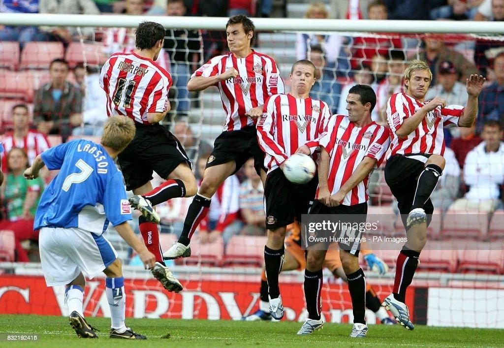 Soccer - Championship - Sunderland v Birmingham - Stadium of Light : News Photo
