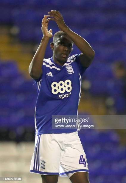 Birmingham City's Wes Harding after the final whistle during the Sky Bet Championship match at St Andrew's Trillion Trophy Stadium Birmingham