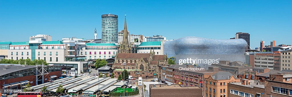 Birmingham Cityscape, England, UK : Stock Photo