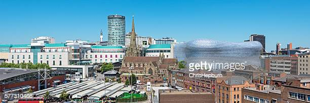 birmingham cityscape, england, uk - west midlands stock pictures, royalty-free photos & images