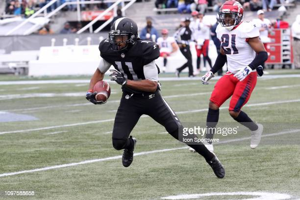 Birmingham Iron Wide receiver Quinton Patton during the game between the Birmingham Iron and the Memphis Express at on February 10 2019 at Legion...