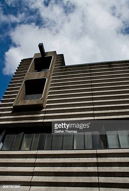 CONTENT] Birmingham New Street Signal Box Birmingham England Now grade 2 listed it was built in 1964 in the brutalist style by Bicknell Hamilton in...