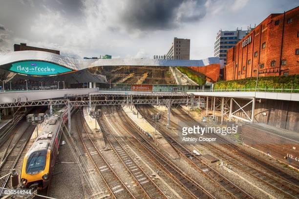 birmingham new street station, birmingham, uk. - birmingham england stock pictures, royalty-free photos & images