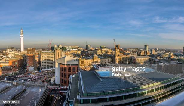 a birmingham panorama - 2016 stock pictures, royalty-free photos & images