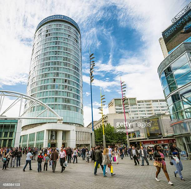 birmingham shopping scene - rotunda stock pictures, royalty-free photos & images