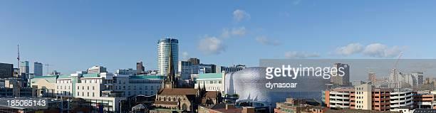 Birmingham skyline panorama