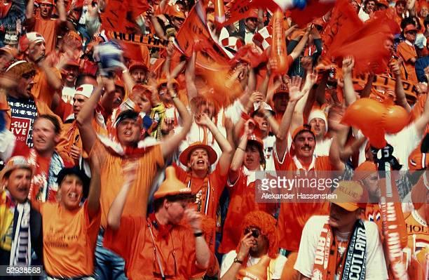 EURO 1996 Birmingham/ENG NIEDERLANDE SCHOTTLAND 00 FAN/FANS NIEDERLANDE