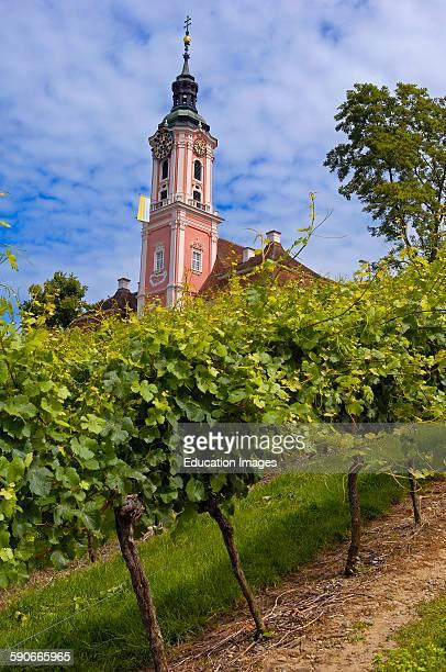 Birnau, Monastery Birnau, Birnau sanctuary, Marian pilgrimage church, Baden-Wuerttemberg, Germany, Lake Constance, Bodensee, Europe.