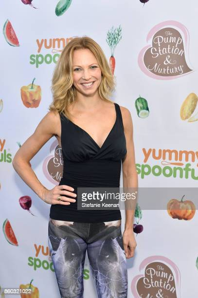 Birte Glang attends First Foods 101/Yummy Spoonfuls at Pump Station Nurtury on October 11 2017 in Los Angeles California