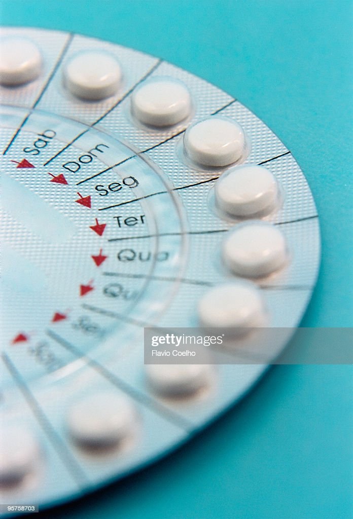 Birthcontrol pills : Stock Photo