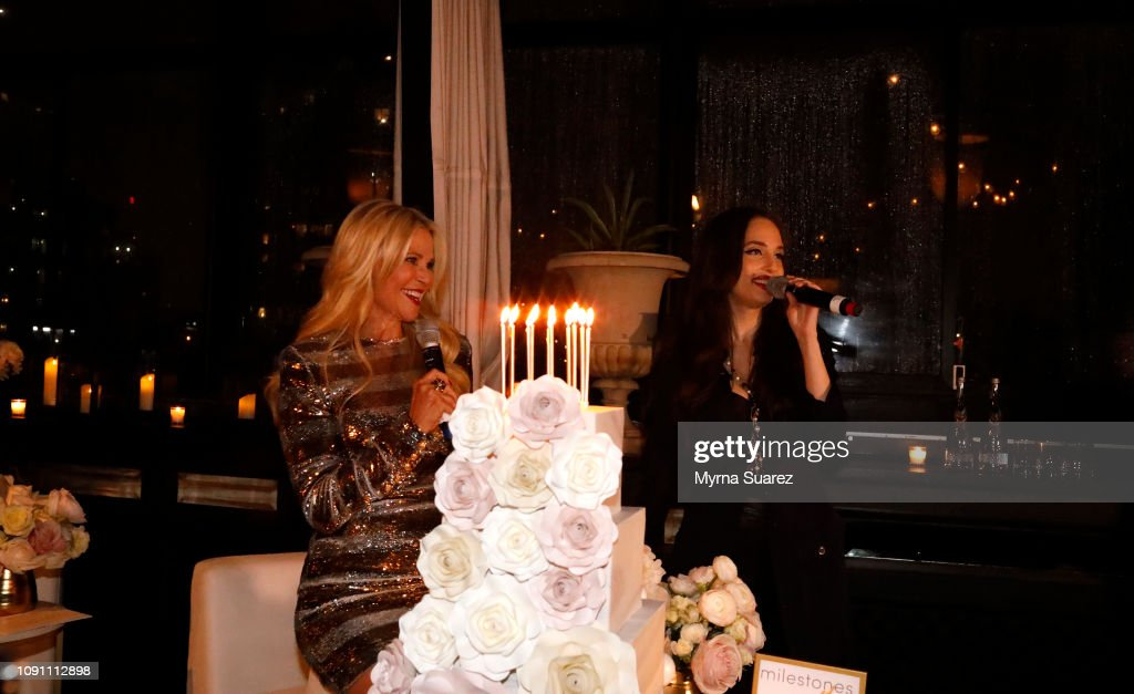 Christie Brinkleys 65th Birthday And The Launch Of New Ultherapy Campaign