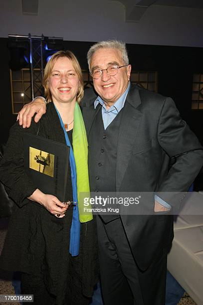 "Birthday boy Michael Degen and his wife Susanne Sturm At The Premiere Of Rtl two-parter ""The Flood 'The Curio-Haus in Hamburg."
