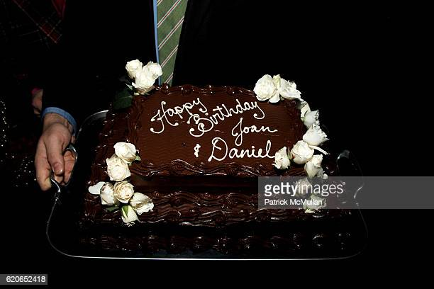 Birthday Cake Attends JOAN KRONS 80th Party At Centorinis On January 9 2008 In New