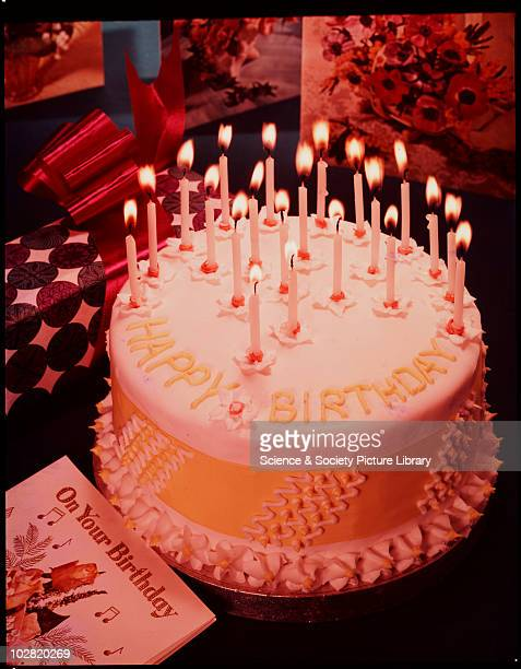 Birthday cake c1950 Photographic Advertising Limited was founded in 1926 by a group experienced in photojournalism and film The company created...