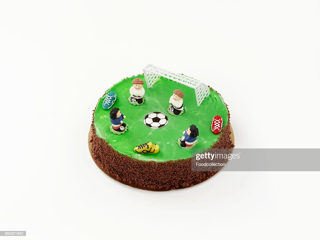 Football Birthday Cake Stock Photos And Pictures Getty Images