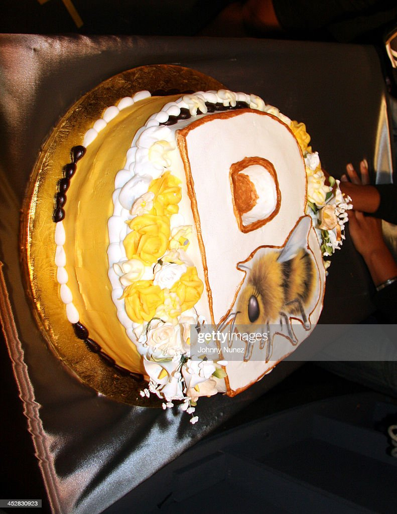 Superb B Birthday Cake During Special Birthday Surprise For Beyonce On Personalised Birthday Cards Cominlily Jamesorg