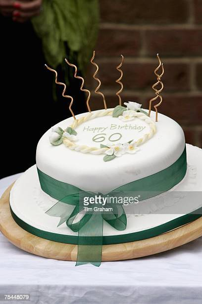 A Birthday Cake For Camilla Duchess Of Cornwall On Her 60th Given Visit