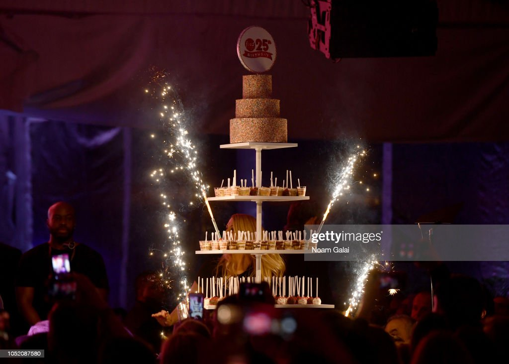 Outstanding A Birthday Cake Is Presented On Stage During The Food Networks Birthday Cards Printable Trancafe Filternl