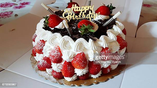Pleasing Fresh Fruit Birthday Cake Stock Pictures Royalty Free Photos Funny Birthday Cards Online Overcheapnameinfo