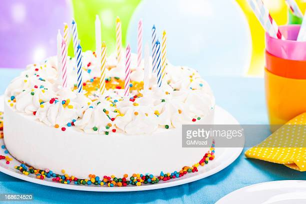Images Of Birthday Cakes And Balloons Stock Photos Pictures