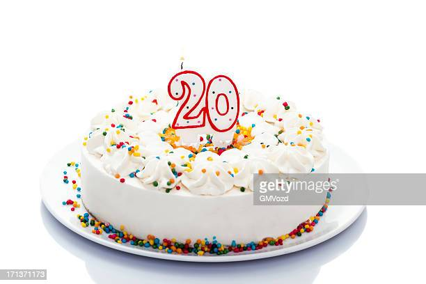 birthday cake - 20 24 years stock pictures, royalty-free photos & images