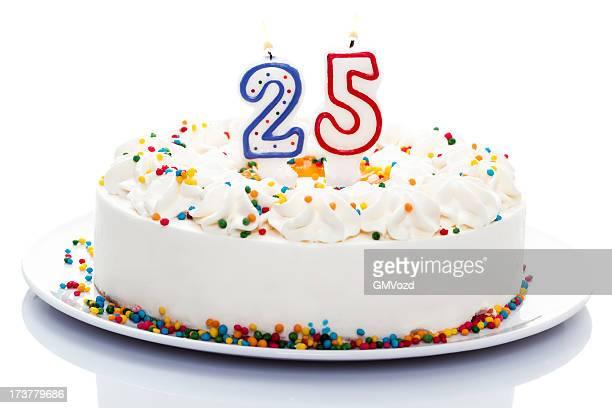 birthday cake - 25 29 år bildbanksfoton och bilder
