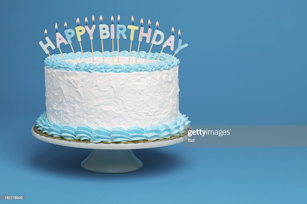Swell Birthday Cake Stock Pictures Royalty Free Photos Images Getty Personalised Birthday Cards Petedlily Jamesorg