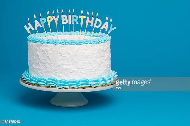 birthday cake - birthday cake stock photos and pictures