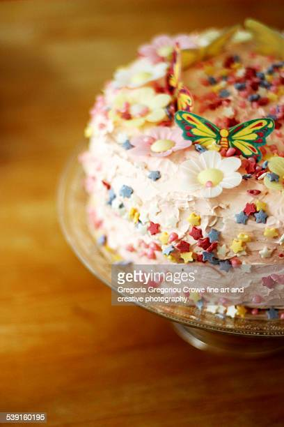 birthday cake - gregoria gregoriou crowe fine art and creative photography photos et images de collection