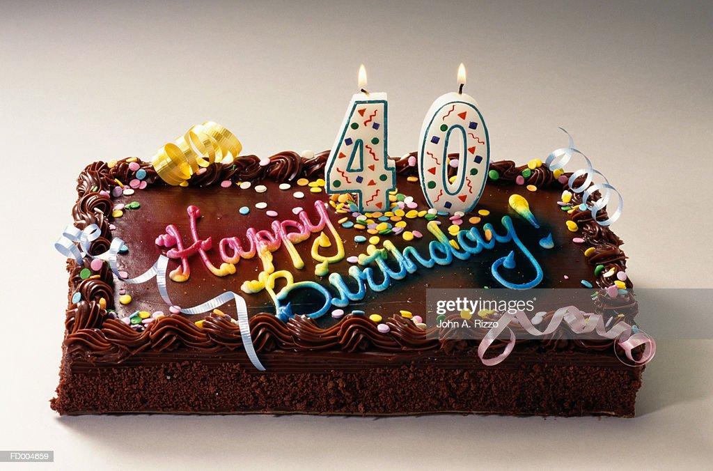 Strange Birthday Cake High Res Stock Photo Getty Images Personalised Birthday Cards Beptaeletsinfo