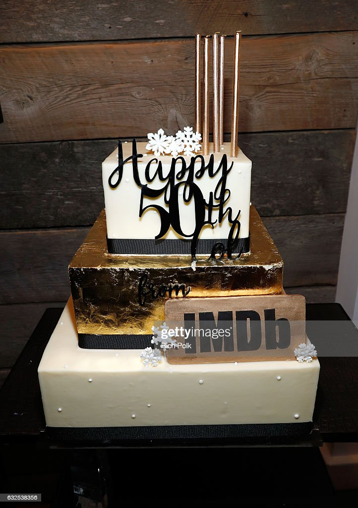 Astounding Birthday Cake Seen At The Private 50Th Birthday Party For Imdbs Birthday Cards Printable Opercafe Filternl