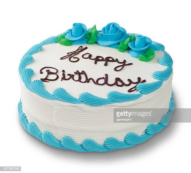 Gâteau bleu
