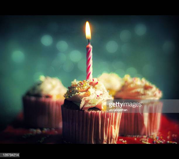 Birthday cakes and candles