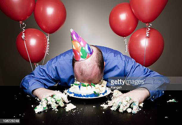 birthday celebrations - funny birthday stock photos and pictures