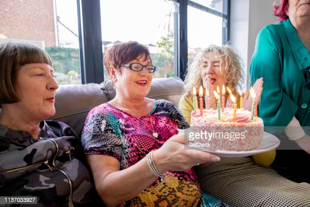 birthday celebrations - celebration stock pictures, royalty-free photos & images