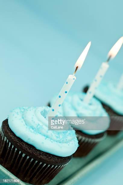 Birthday Cupcake Trio