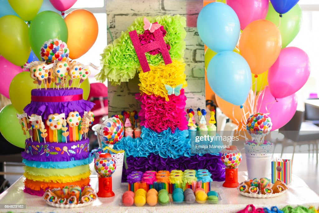 Birthday Cake Balloons Images ~ Manju s eating delights a rainbow birthday party manav turns