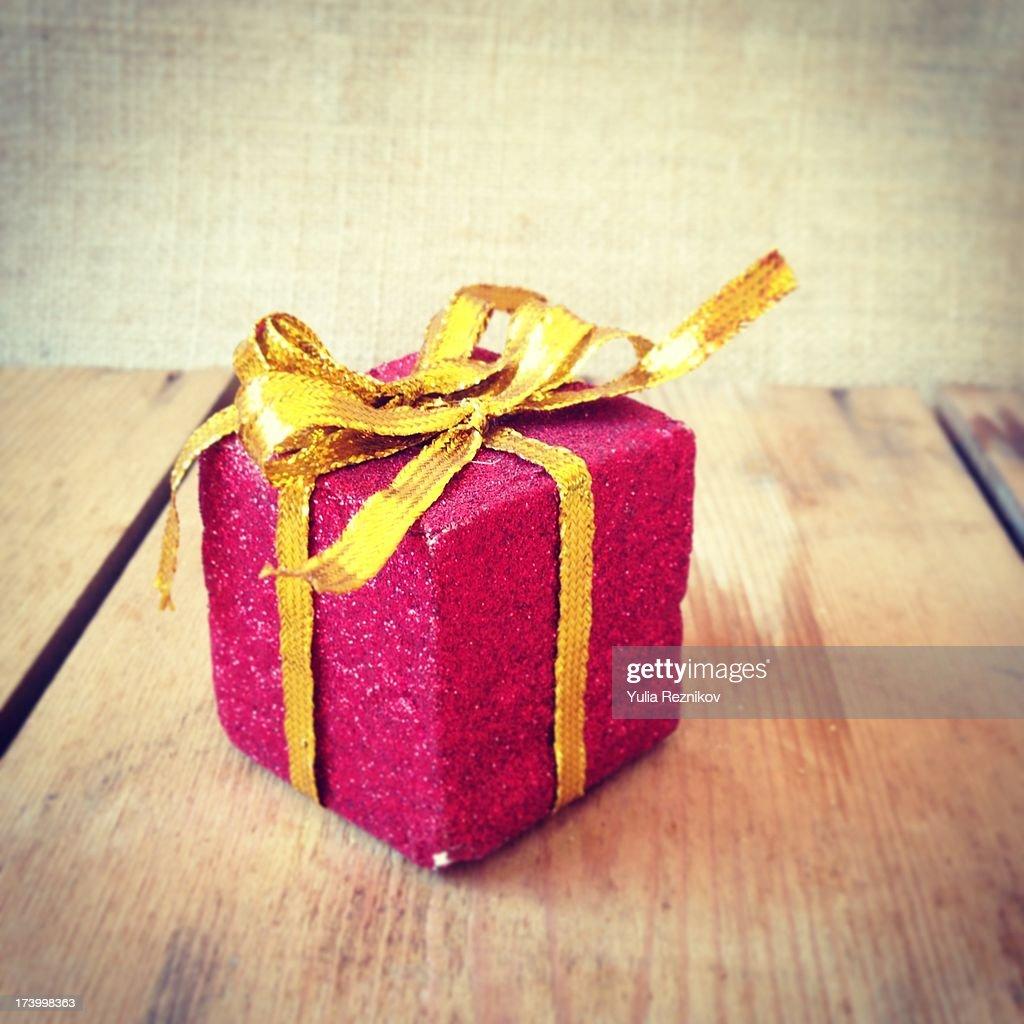 Birthday gift : Stock Photo