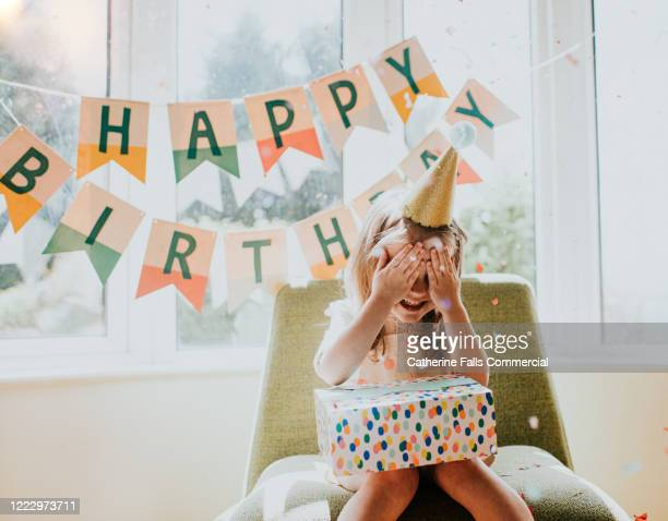 birthday girl - birthday stock pictures, royalty-free photos & images